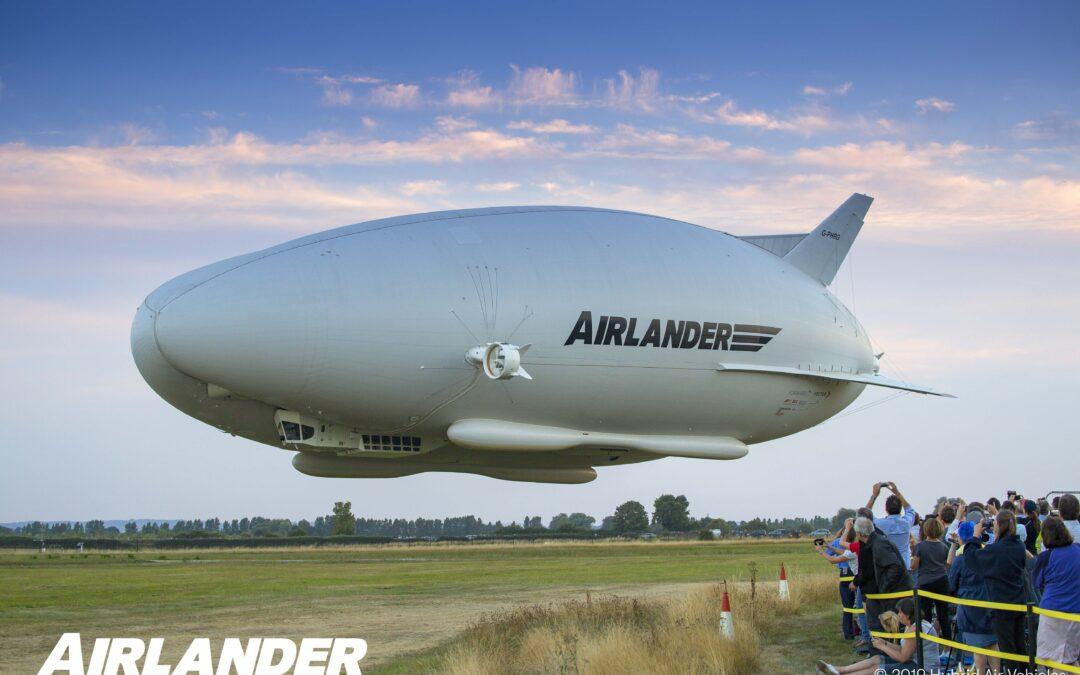 Luftskeppet Airlander 10 – en spännande nyhet för framtiden!